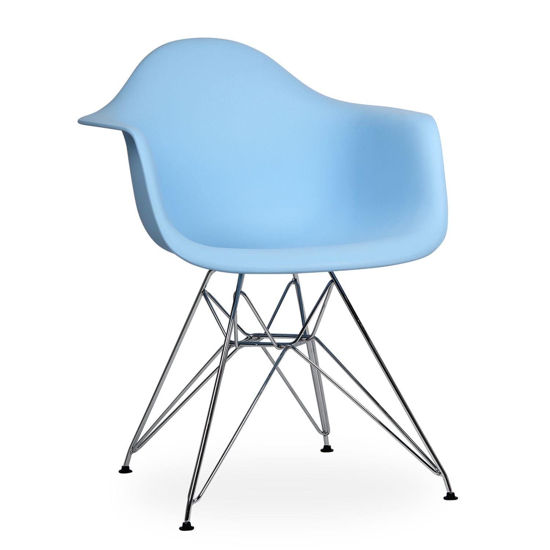 8bb67b5fe Eames Molded Metal Chair (Brazos)